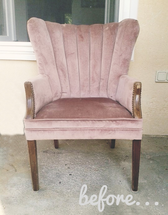 {before}chair