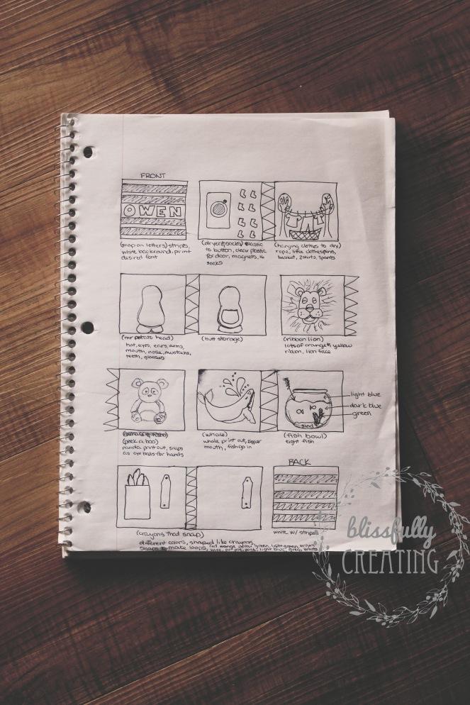 {quiet book} notes