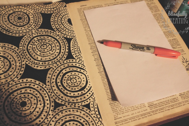creating-a-book-hide-awaydrawing-outline