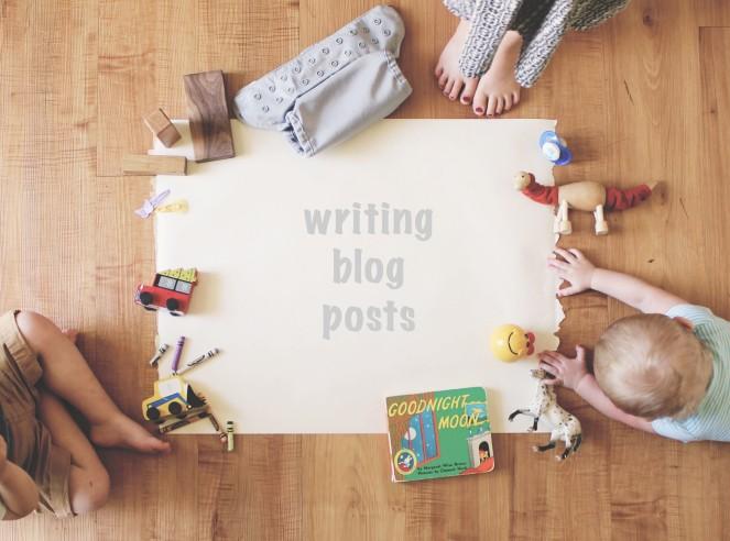 {manic mom-days} writing blog posts