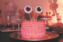 {creating birthday magic} monster cake