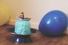 {creating birthday magic} sailor cake