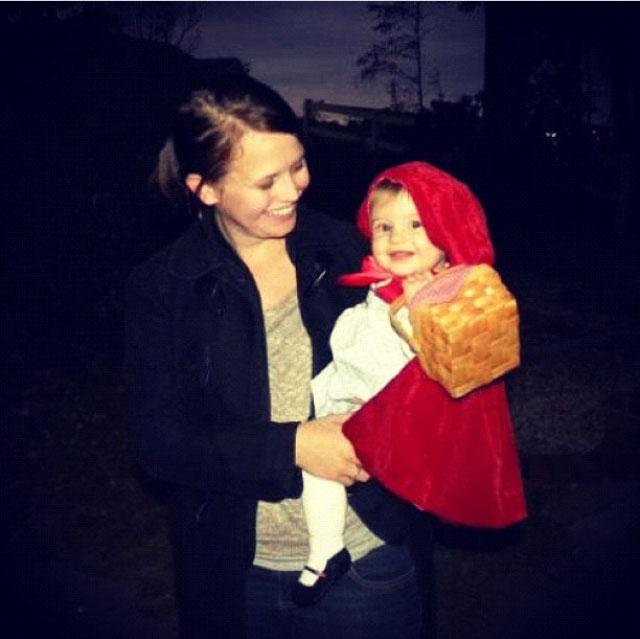 {creating halloween magic} little red riding hood