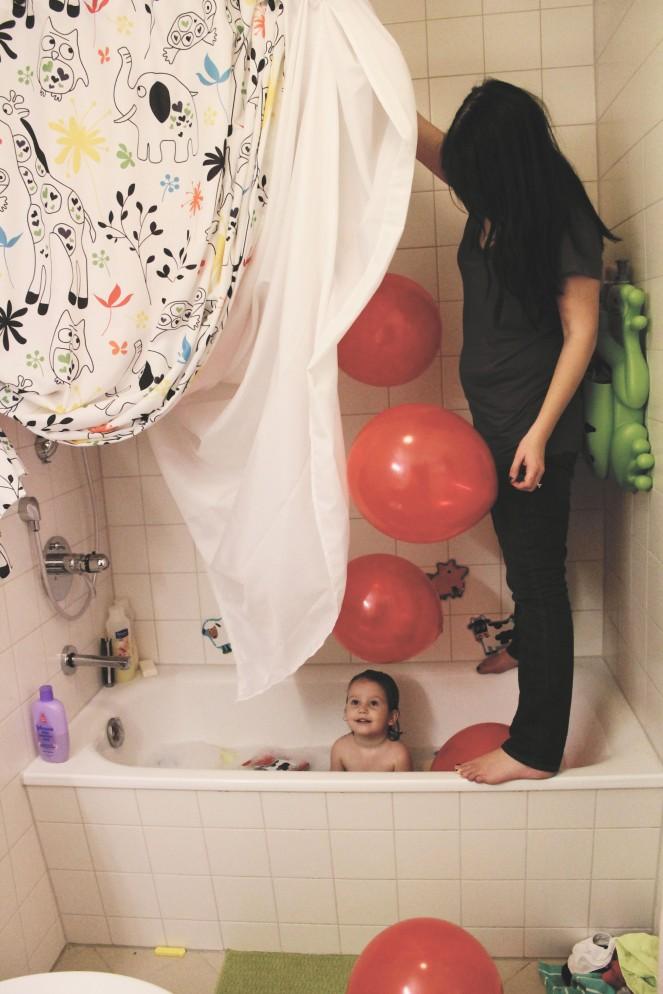 {creating new year's eve fun} balloon drop
