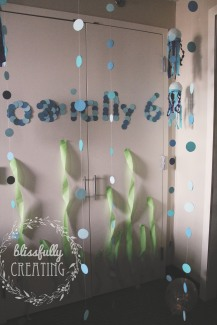 {creating birthday adventures} decorations1
