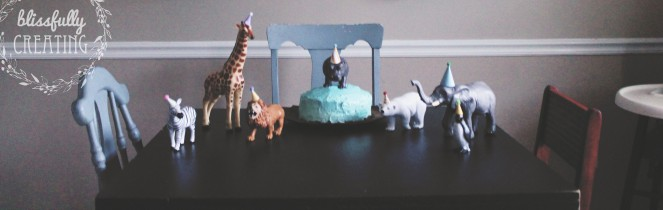 {creating birthday adventures} party animals
