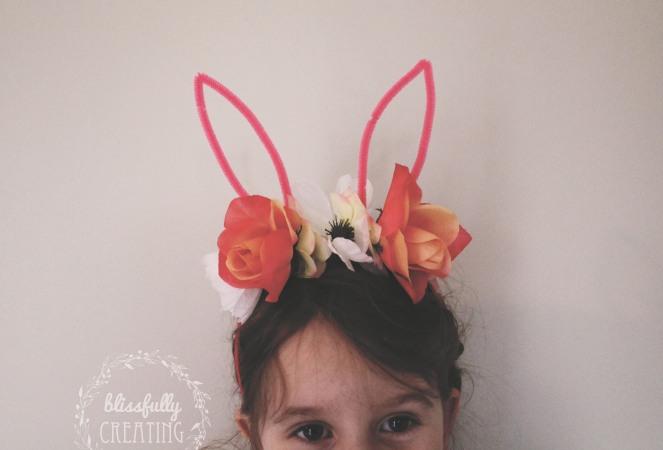 {creating bunny ears} little miss bunny