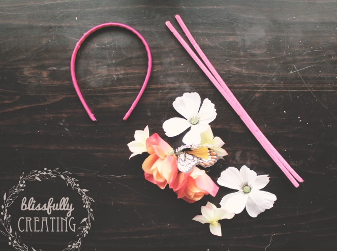 {creating bunny ears} supplies