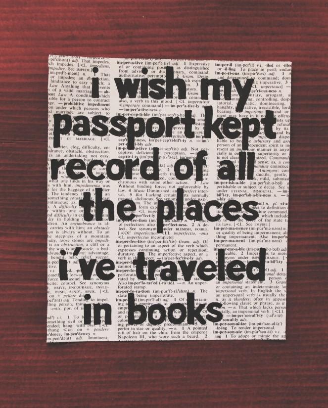 i wish my passport...