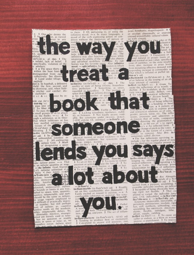 the way you treat...