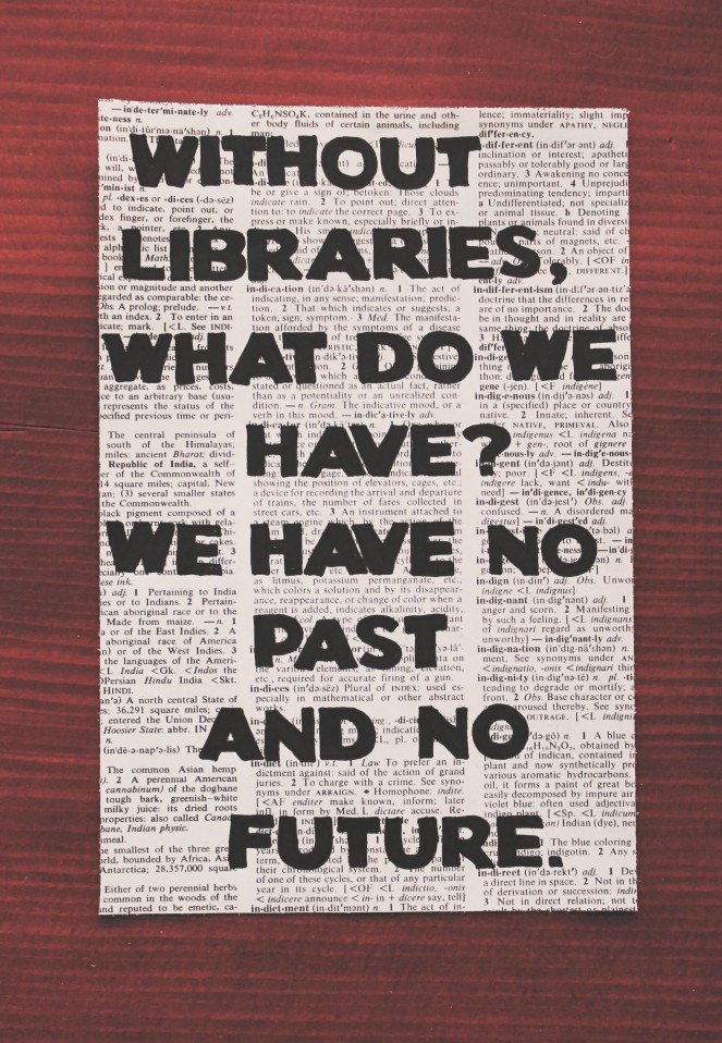 without libraries...