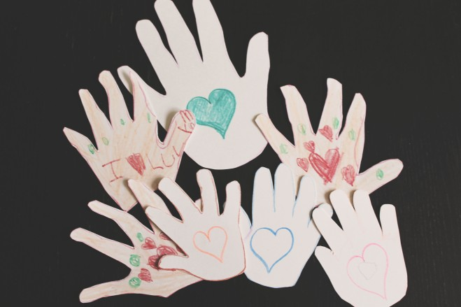 {work trip wednesdays} kissing hands