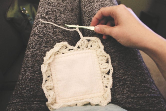 {creating a baby blanket} woah