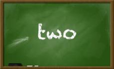 {creating alphabet fun} two