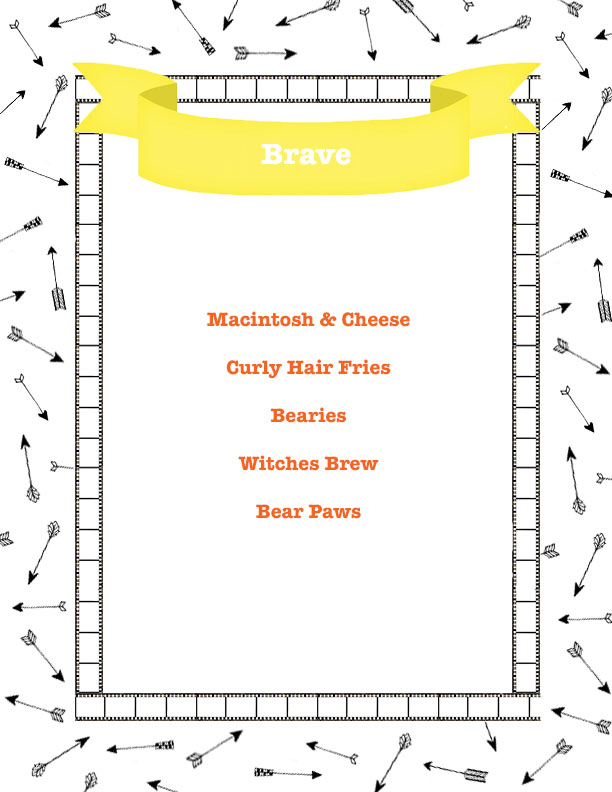 brave menu