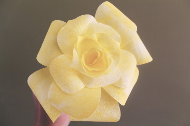 {quick crafts} coffee filter roses6