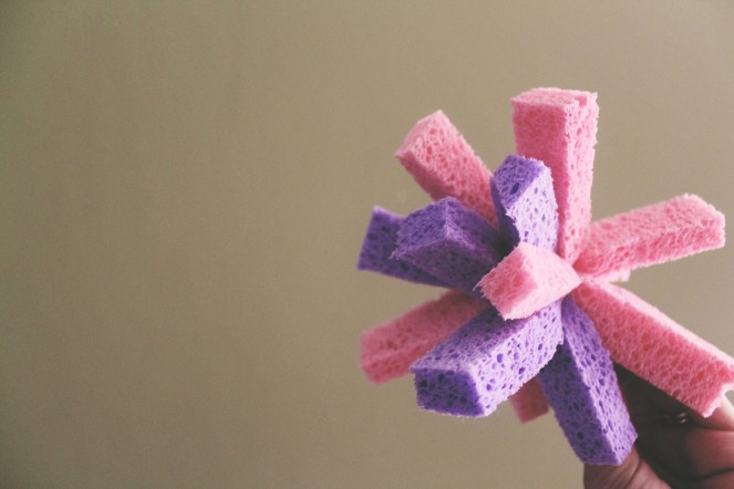 {quick crafts} sponge bombs2