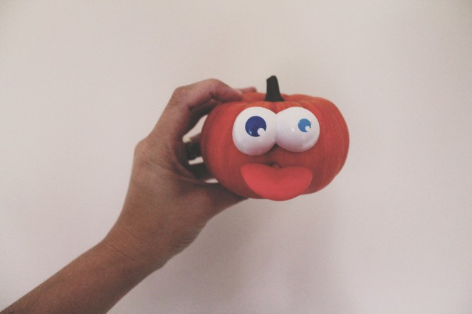 {creating cute pumpkins} potato head