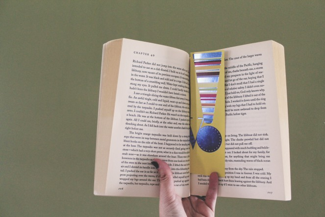 {5 ways to recycle} bookmark